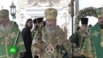 Представители 11поместных церквей поддержали Онуфрия вего юбилей