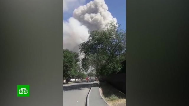 Число погибших при взрывах вКазахстане увеличилось до двух.Казахстан, взрывы, смерть.НТВ.Ru: новости, видео, программы телеканала НТВ