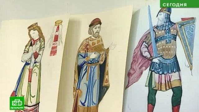 Петербургские художники создают былинные костюмы для оперы оПетре иФевронии.Санкт-Петербург, музыка и музыканты, одежда, театр.НТВ.Ru: новости, видео, программы телеканала НТВ