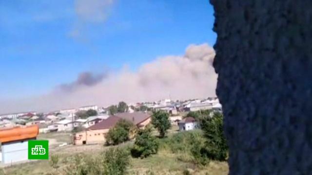 Последствия ЧП в казахстанском городе напоминают фильм-катастрофу.Казахстан, взрывы.НТВ.Ru: новости, видео, программы телеканала НТВ
