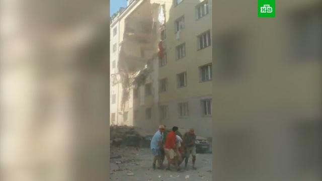 Жилой дом вВене частично обрушился из-за взрыва.Вена, взрывы, обрушение.НТВ.Ru: новости, видео, программы телеканала НТВ