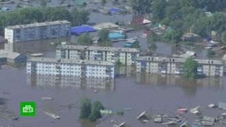 ВИркутской области под воду ушел целый город