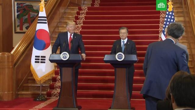 Трамп и Ким Чен Ын встретятся на границе двух Корей.Ким Чен Ын, США, Северная Корея, Трамп Дональд, Южная Корея, переговоры.НТВ.Ru: новости, видео, программы телеканала НТВ
