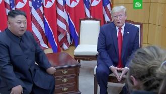 Трамп иКим Чен Ын обменялись приглашениями вВашингтон иПхеньян
