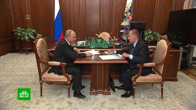 Зубков обрисовал Путину перспективы транспорта на природном газе.Газпром, Путин, газ, технологии, топливо.НТВ.Ru: новости, видео, программы телеканала НТВ