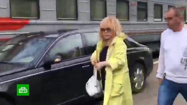 На Рижском вокзале началась проверка из-за машины Пугачёвой на перроне.Москва, Пугачёва, РЖД, вокзалы, скандалы.НТВ.Ru: новости, видео, программы телеканала НТВ