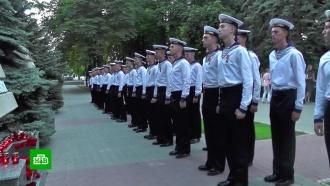 Жители Севастополя почтили память погибших подводников
