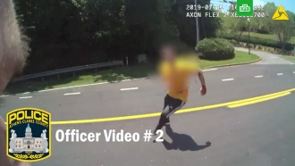 Преступник сножом перед смертью ранил полицейского