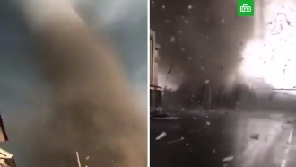 Разрушительный <nobr>торнадо-убийца</nobr> обрушился на Китай