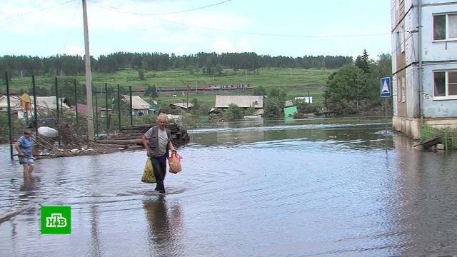 В затопленном Тулуне мошенники перепродают гуманитарную помощь.Иркутск, Иркутская область, наводнения.НТВ.Ru: новости, видео, программы телеканала НТВ