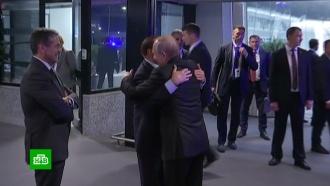 Визит Путина вИталию завершился встречей со старым другом