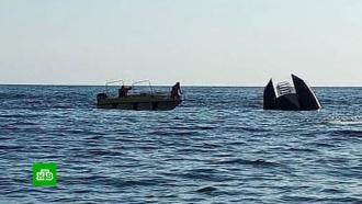 Задержаны капитан и владелец перевернувшегося в Чёрном море судна