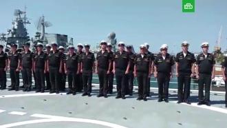 ВСевастополе почтили память погибших вБаренцевом море подводников