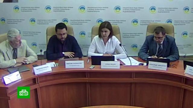 На Украине пригрозили закрыть NewsOne из-за идеи телемоста с Россией.Киев, журналистика, митинги и протесты, телевидение.НТВ.Ru: новости, видео, программы телеканала НТВ