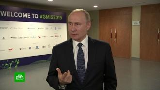 Путин призвал не портить отношения с Грузией из-за грубости журналиста
