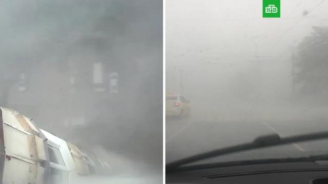 На Пермь обрушился страшный ураган.Пермь, штормы и ураганы.НТВ.Ru: новости, видео, программы телеканала НТВ