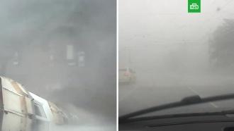 На Пермь обрушился страшный ураган