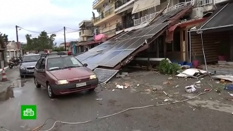 Ураган вГреции: российские туристы погибли мгновенно