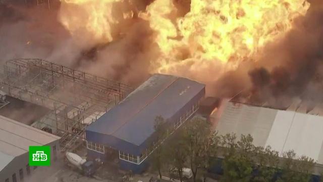 Гигантский пожар на подмосковной ТЭЦ: что это было.газопровод, Московская область, пожары.НТВ.Ru: новости, видео, программы телеканала НТВ