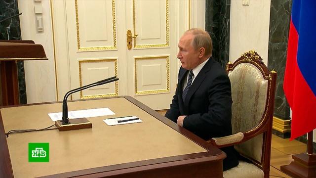 Путин обсудил с членами Совбеза отношения с Украиной.Путин, переговоры.НТВ.Ru: новости, видео, программы телеканала НТВ