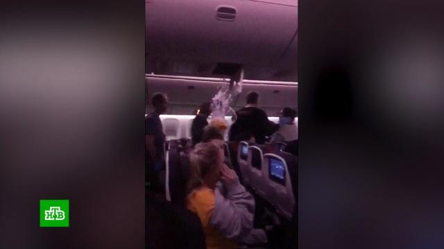 Вканадском авиалайнере пострадали 35человек из-за турбулентности.Австралия, Канада, США, авиационные катастрофы и происшествия.НТВ.Ru: новости, видео, программы телеканала НТВ