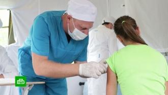 Военные медики вакцинировали жителей деревень Тулунского района