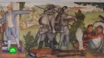 ВСША решили уничтожить «расистскую» фреску русского художника