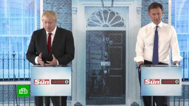 Борис против Ханта: в Британии завершились дебаты кандидатов на пост премьера.Великобритания, выборы.НТВ.Ru: новости, видео, программы телеканала НТВ