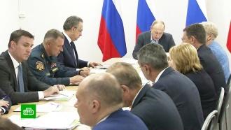 Путин вБратске проверяет исполнение поручений всвязи снаводнением