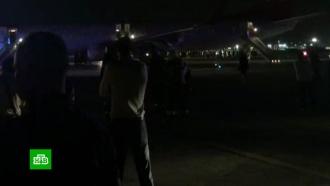 При эвакуации из самолета вШереметьево пострадали 8человек