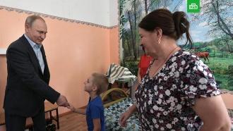 Мальчик из Тулуна рассказал Путину про «утонувший» детсад