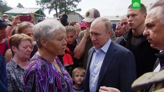 «В клетку загонят, ивсе»: жители Тулуна пожаловались Путину на проблемы сжильем