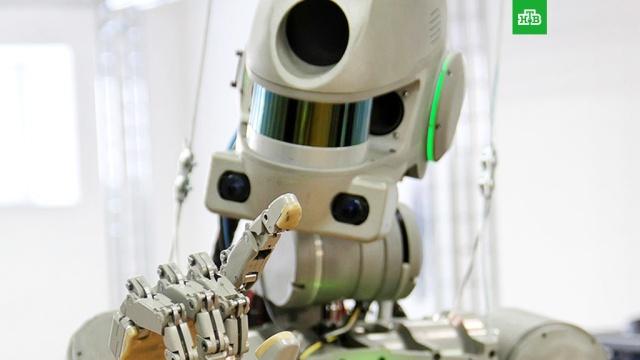 Новому экипажу МКС впервые предстоит вкосмосе работа счеловекоподобным роботом.Байконур, МКС, запуски ракет, космонавтика, космос.НТВ.Ru: новости, видео, программы телеканала НТВ