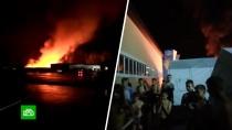 Причиной пожара в детском лагере могла стать тепловая пушка