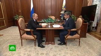 Врио главы <nobr>Кабардино-Балкарии</nobr> доложил Путину оразвитии региона