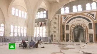 В Алеппо начали восстанавливать древнюю городскую мечеть
