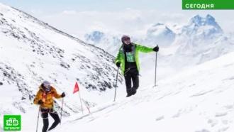 Тела погибших питерских альпинистов спустили с горы в Кабардино-Балкарии