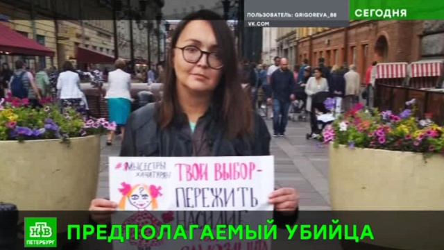 В Петербурге задержан подозреваемый в убийстве ЛГБТ-активистки.Санкт-Петербург, Следственный комитет, гомосексуализм/ЛГБТ, убийства и покушения.НТВ.Ru: новости, видео, программы телеканала НТВ