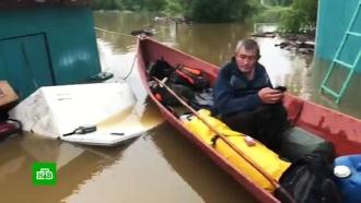 В подтопленных районах Примурья готовятся к мощному удару стихии