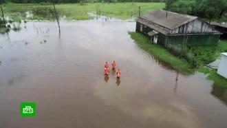 В Амурской области ввели режим ЧС из-за паводка