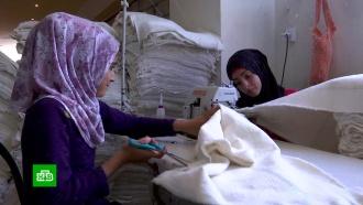 В Сирии вновь заработала единственная в стране фабрика по переработке тканей
