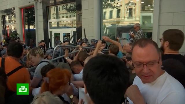 Протесты вМоскве: лидеры оппозиции проиграли впопулярности бургерам.Москва, задержание, митинги и протесты, оппозиция, права человека.НТВ.Ru: новости, видео, программы телеканала НТВ