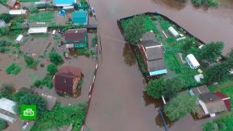 В подтопленных районах Приамурья ввели сухой закон