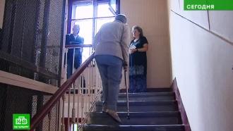 Неработающий лифт замуровал жителей питерской шестиэтажки