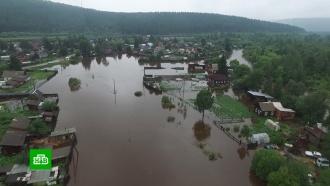 Вторая волна паводка затронула восемь районов Иркутской области