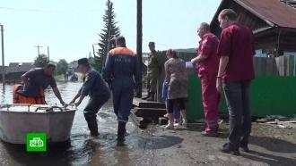 Всильно пострадавшей от наводнения Иркутской области ожидаются дожди