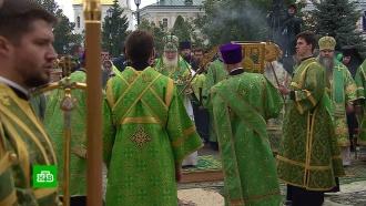 Патриарх Кирилл отслужил литургию в память о Серафиме Саровском