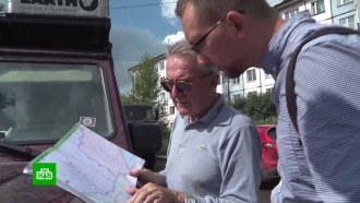 Путешественники из Европы застряли взатопленных сибирских городах