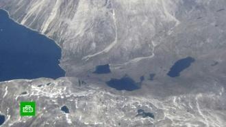 Ледники Гренландии тают <nobr>из-за</nobr> аномальной жары