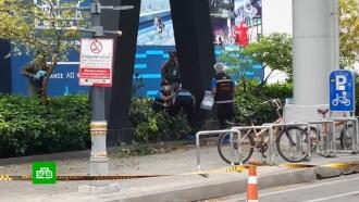 ВБангкоке прогремели десять взрывов, есть раненые
